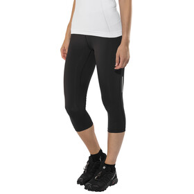 Salomon Agile Mid Tights Women Black